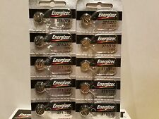 10 x Energizer 371 SR920SW Silver Oxide Watch Battery Made in USA FREE SHIPPING!