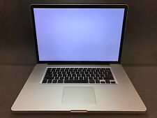 "Apple MacBook Pro A1297 17"" Laptop BTO (February, 2011) 2.3GHz i7 GPU AS-IS"