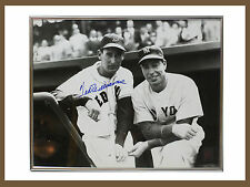 Ted Williams Joe DiMaggio Autographed Photo16X20 Framed Green Diamond Sports COA