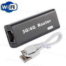 up to date Portable 3G/4G WiFi Wlan Hotspot 150Mbps RJ45 USB Wireless Router