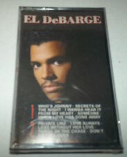 EL DEBARGE (1986) SELF-TITLED DEBUT CASSETTE - SEALED