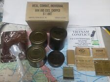 Military Vietnam C-Rations C-Ration meal - ONE box, ONE meal,@,