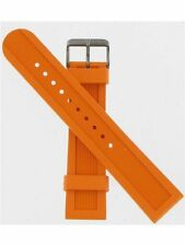 Swiss Army Brand 22mm Orange Rubber Dive Master 500 Watch Band ''003883''