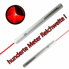 Rot Red Laserpointer Stift Pen Beam 650nm 1mw Präsentation Light Star Zeiger LED