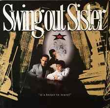 SWING OUT SISTER ‎- It's Better To Travel (LP) (VG/VG-)