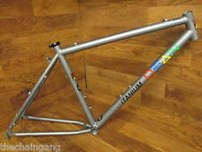 RARE VINTAGE ORIGINAL DEAN TITANIUM TI 26ER CANTI MOUNTAIN BIKE MTB FRAME MEDIUM