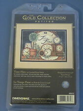 TIME FLIES by Susan Winget Dimensions GOLD PETITES Counted Cross Stitch Kit NEW