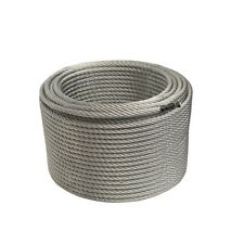 ALEKO Steel Cable 3/8 Inch 7X19 Galvanized Aircraft Wire Rope 250 Feet