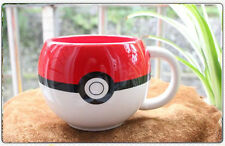 Cute Nice Pokemon Poke Ball 3D Figural Mug Coffee Cup Pokemon FANS With Box Gift