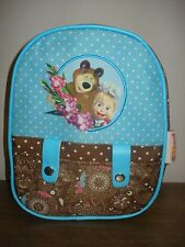 Small backpack for preschool children Masha and the Bear (Masha i Medved)