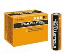 10 PILE DURACELL INDUSTRIAL AAA; LR3; LR3T/4B; MN2400 BATTERIE