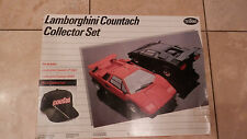 TESTORS LAMBORGHINI COUNTACH COLLECTOR SET LP500S/5000S 1/24 MODEL KIT