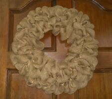 Design/Decorate Your Own Burlap Wreath