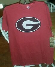 Georgia Bulldogs 47 Brand officially licensed Men's Scrum t-shirt NWT Size Large
