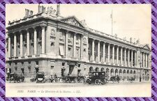 Carte Postale - Paris - Le Ministère de la Marine