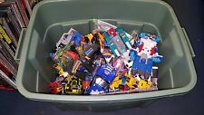 Huge Lot Of Transformers Pieces & Parts Autobots Decepticons 50 pounds