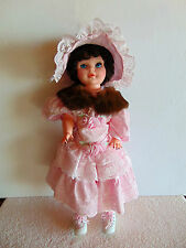 "Large Vintage Reliable Canada - Walking 24"" Doll 1978 - a Baar & Beards Collar"