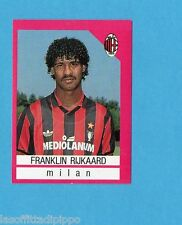 EURO FLASH-I CALCIATORI 1990/91-Figurina n.196- RIJKAARD - MILAN -NEW
