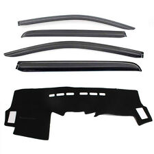 Weathershields with Dash mat for 2005 ~ 2015 Toyota HIlux Dual Cap Model