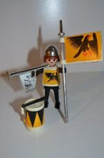 8495 playmobil ridder zwarte adelaar met trom 3332 single klicky