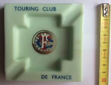 CENDRIER Ashtray TCF TOURING CLUB DE FRANCE Opalex Made in France