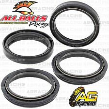 All Balls Fork Oil & Dust Seals Kit For Suzuki DRZ 400 SM 2016 Motocross Enduro