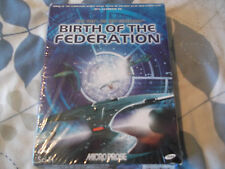 STAR TREK BIRTH OF THE FEDERATION PC-CD BOXED VERSION ( brand new & sealed )