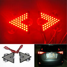 RED Arrow High Mount Brake Indicators Light Suck On Rear Windshield window Glass