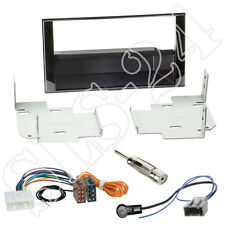 Nissan Micra Note ab2013 Doppel-DIN Autoradio Blende+Adapter+Antenne Einbau SET