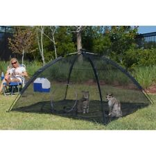 Happy Habitat Pop Up Mesh Tent Outdoor Cat Pet Small Animal Enclosure ABG-10672
