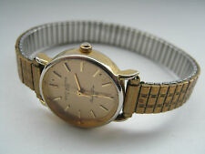 Ladies Solvil Et Titus Quartz WristWatch in Gold Tone Stainless Steel DL 803008A