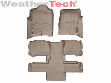 WeatherTech® DigitalFit FloorLiner - Chevrolet Tahoe w/Bucket - 2011-2014 - Tan
