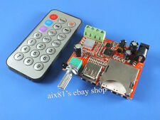 DC 12V Verstärker-Brett 2 Channel 10W+10W Stereo MP3 Decoder Board + Remote