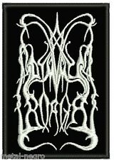 DIMMU BORGIR EMBROIDERED PATCH BLACK CRADLE OF FILTH EXTREME WATAIN Metal Negro