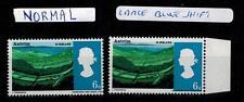 Errore grave turno di Blu dappertutto marginale FRANCOBOLLI PAESAGGIO 1966 6d sg690