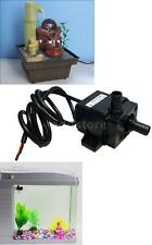 Ultra-quiet DC12V Mini Brushless Water Oil Pump Submersible 240L/H 5W Lift 3M US