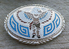Thunderbird Spirit Dancer Native American Indian Vintage Belt Buckle