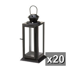 20 STARLIGHT METAL CANDLE LANTERNS WEDDING OR EVENT CENTERPIECES