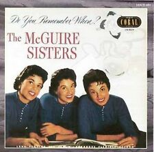Do You Remember When? by The McGuire Sisters (CD, Aug-1996, Jasmine Records)