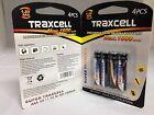 4 x Aufladbare Batterien Akku Accu Batterie TraxCell 1600 mAh AAA R03 1.2V NI-MH