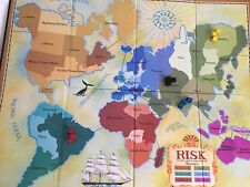 RISK Vintage Strategy Game Collection Wood Box 2009 Book Shelf Edition COMPLETE