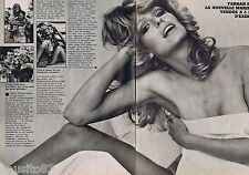 COUPURE DE PRESSE CLIPPING 1977 FARRAH FAWCETT   (2 pages)