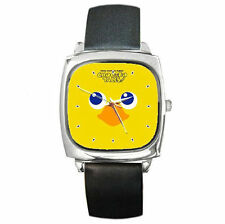 Final Fantasy Fables Chocobo Tales leather watch