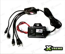 XTREME-in 5 in 1 Multi Pin Mobile Charger For All Motor Bikes / Scooters (Black)
