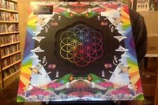 Coldplay  Head Full of Dreams LP sealed blue pink color vinyl + download