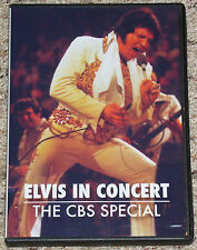 Elvis Presley In Concert DVD, The CBS Special DVD Brand New With 4 Photos