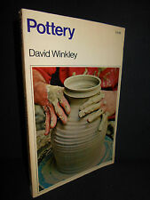 Pottery by David Winkley (1974, paperback) Concise Instruction Basic Manual