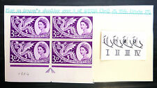 GB 1958 Empire Games 3d with Shoulder Flaw SG567b SEE BELOW FP6971