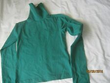 american apparel cotton spandex jersey turtleneck m