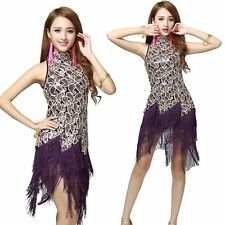 1920s Flapper Dress Clubwear Party Gatsby Sequin Tassel Plus Size Dress 3225